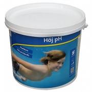 Nr 5007165: HÖJ pH 3 kg, granulat. Pulver som höjer vattnets pH-värde. PRIS: 179 kr/st. (butikspris 199 kr)
